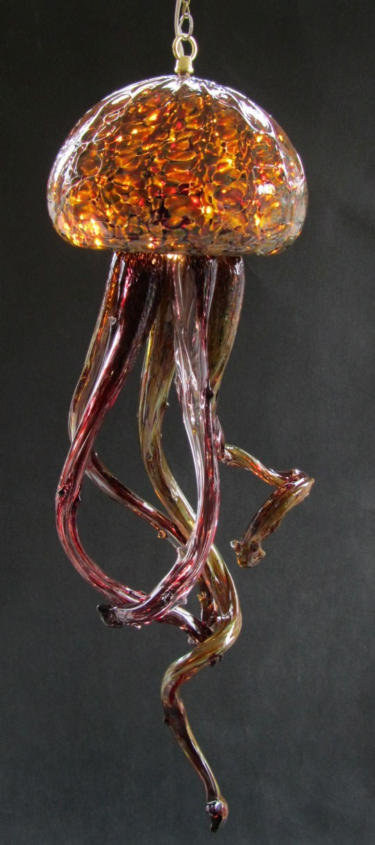 Sandstone Jelly Fish Chandelier