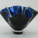 Black and Blue Bowl