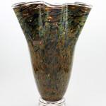 Sandstone Tall Flutter Vase