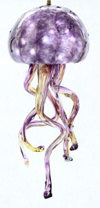 Amethyst Jelly Fish Chandelier