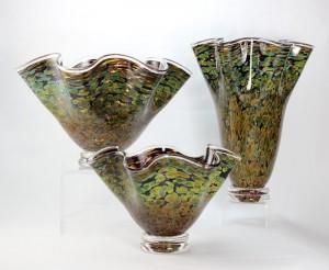 Sandstone Flutter Vases